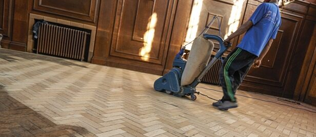 Gap filling & Finishing services provided by trained experts in Wimbledon Floor Sanding